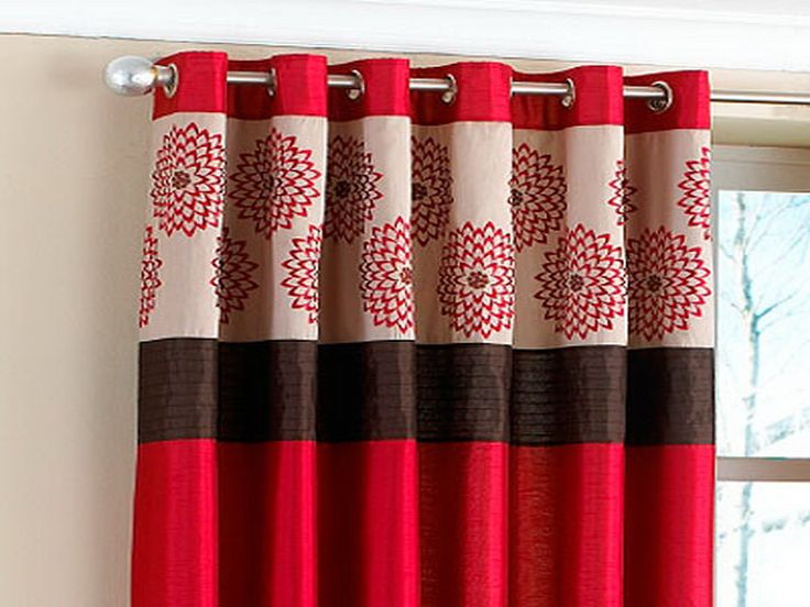 Best 25+ Red kitchen curtains ideas on Pinterest Kitchen - red curtains for living room