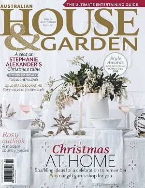 @HOUSEnGARDEN #magazines #covers #december #2016 #home #decorating #ideas #design #interior #style #recipes #countrygarden #styleawards