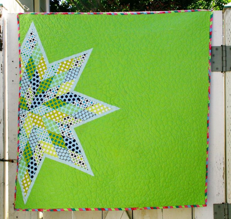Scrappy Lone Star Quilt Tutorial: Part 1