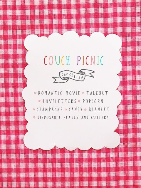 couch picnic