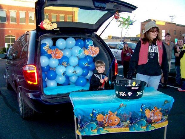 69 best Halloween images on Pinterest Little mermaids, Under the - halloween trunk or treat ideas