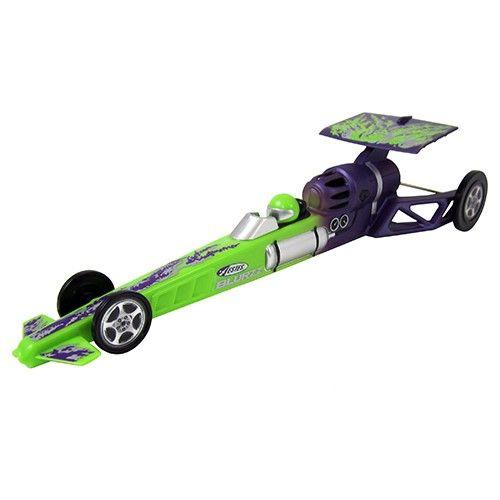 Image of Estes Blurzz Green Mantis Rocket-Powered Dragster
