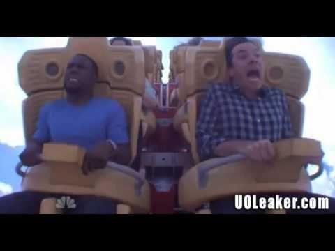 Jimmy Fallon & Kevin Hart Ride Rip Ride Rocket