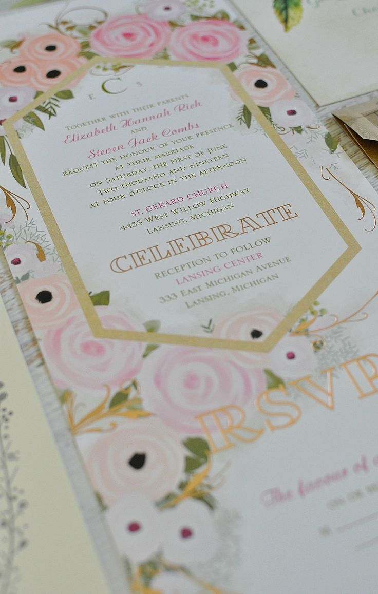 953 best wedding invitation crush images on pinterest invitation