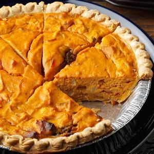 Savory Pumpkin Quiche Recipe | Taste of Home