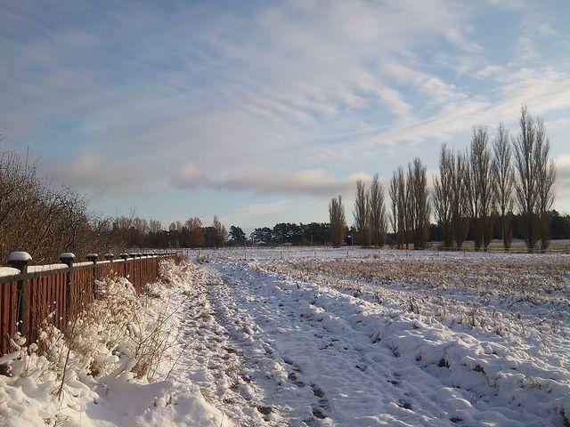 First snow in Viking Land / Első hó Vikingföldön