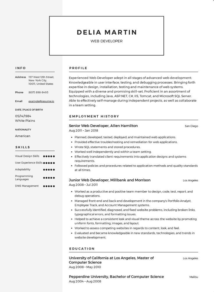 Gratis Engels CV Voorbeelden 2020 Sollicitatiebrieven