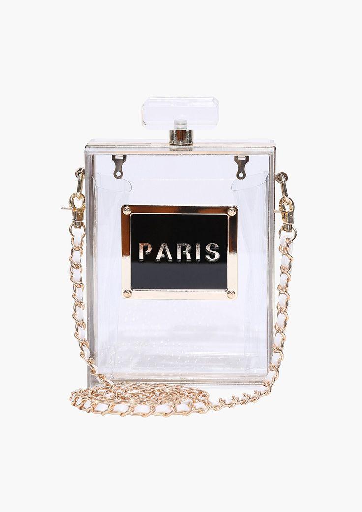 I Prefer PARIS Perfume Purse