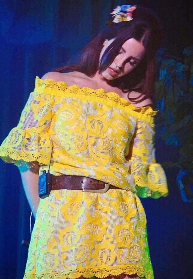 Lana Del Rey at Osheaga Festival in Montreal #LDR