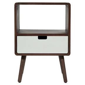 1-Drawer Mid-Century Kids Nightstand - Pillowfort™