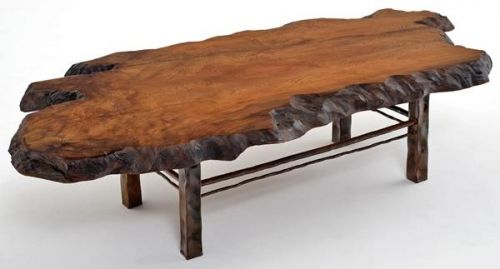 contemporary rustic coffee table redwood with forged base on stunning wooden metal coffee table id=93645