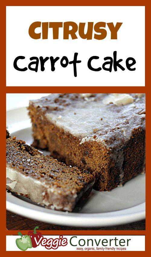 Citrusy Carrot Cake