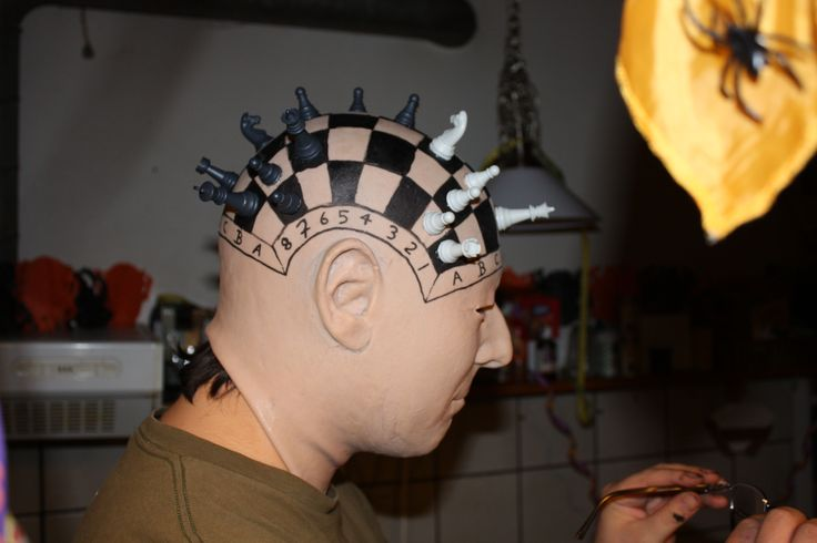 Chess board mask