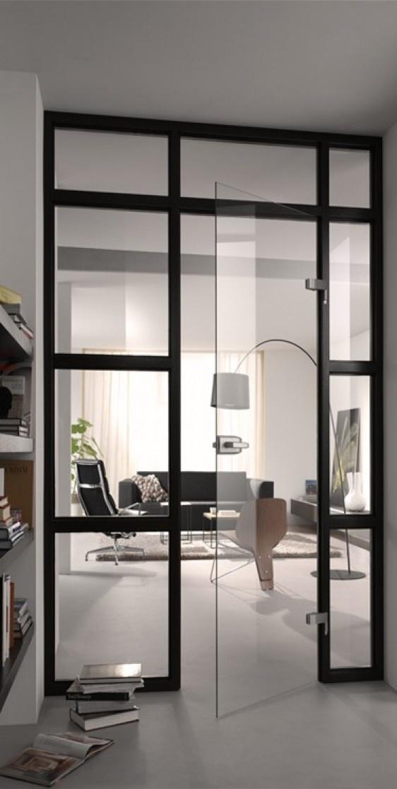 Interieurideeën | mooi idee voor binnendeur