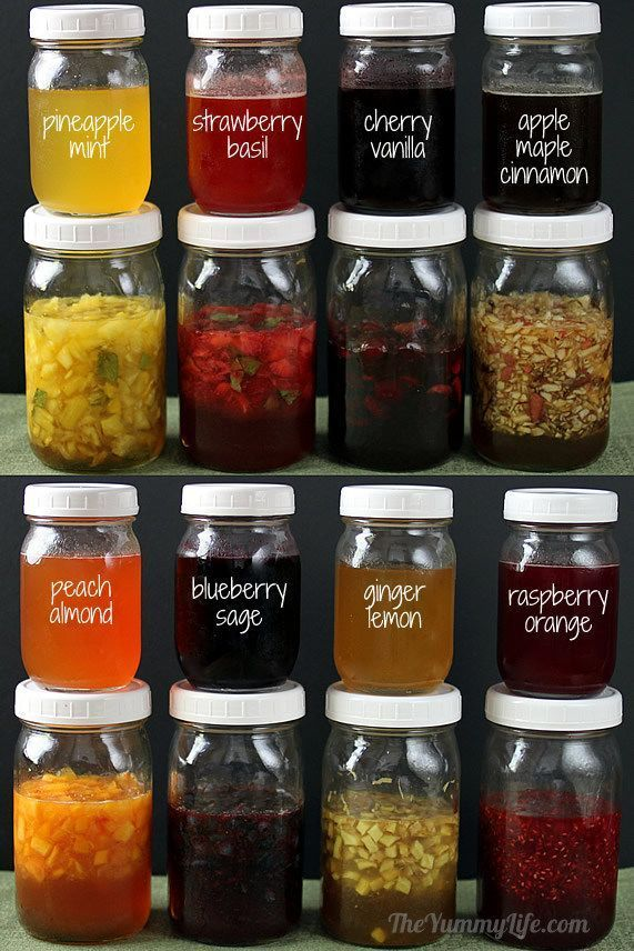 Fruit and honey syrup recipes