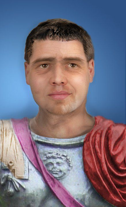Facial reconstruction of Roman General Publius Quinctillius Varus, remembered for losing three Roman legions when ambushed by Germanic tribes in the Teuterberger Forest, whereupon he took his own life. (46 BC - 9 AD)