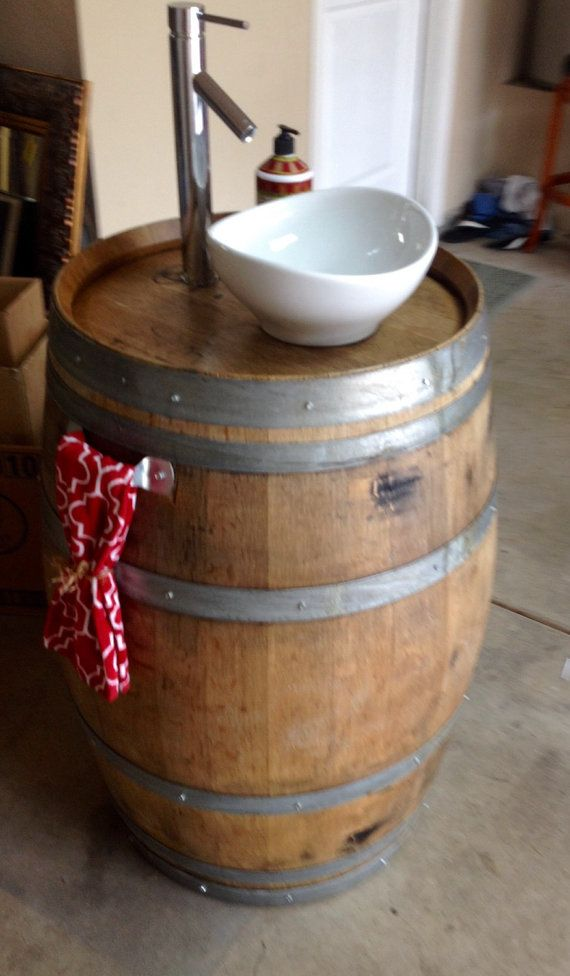 25 Best Ideas About Wine Barrel Bar On Pinterest