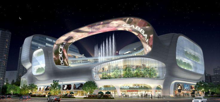 Dongfeng Shopping Mall by amphibianArc in Zhengzhou, Henan, China