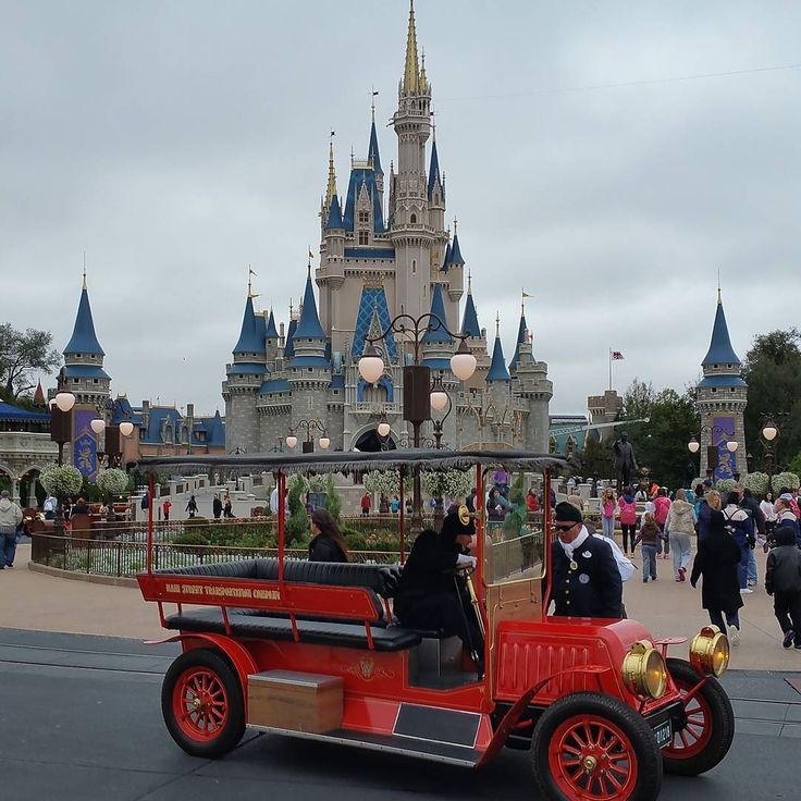 If you get to the Magic Kingdom at least 20 minutes before the published opening time you can see Rope Drop. Mickey and Minnie host a little ceremony to open the Park. Then you can board one of these great cars for a drive down Main Street.  Who's done it? If you have a photo of it on Instagram - tag me so I can check it out.  #travel #vacation #familyvacation #waltdisneyworld #Disney #WDW #Disneytip #disneyparks #DisneyWorld #Disneytips #tips4Disney #MagicKingdom