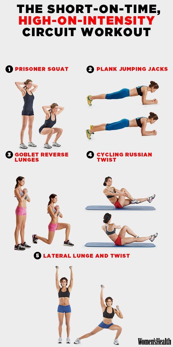 Bij een krap schema hoort een snelle (maar heul effectieve) workout.