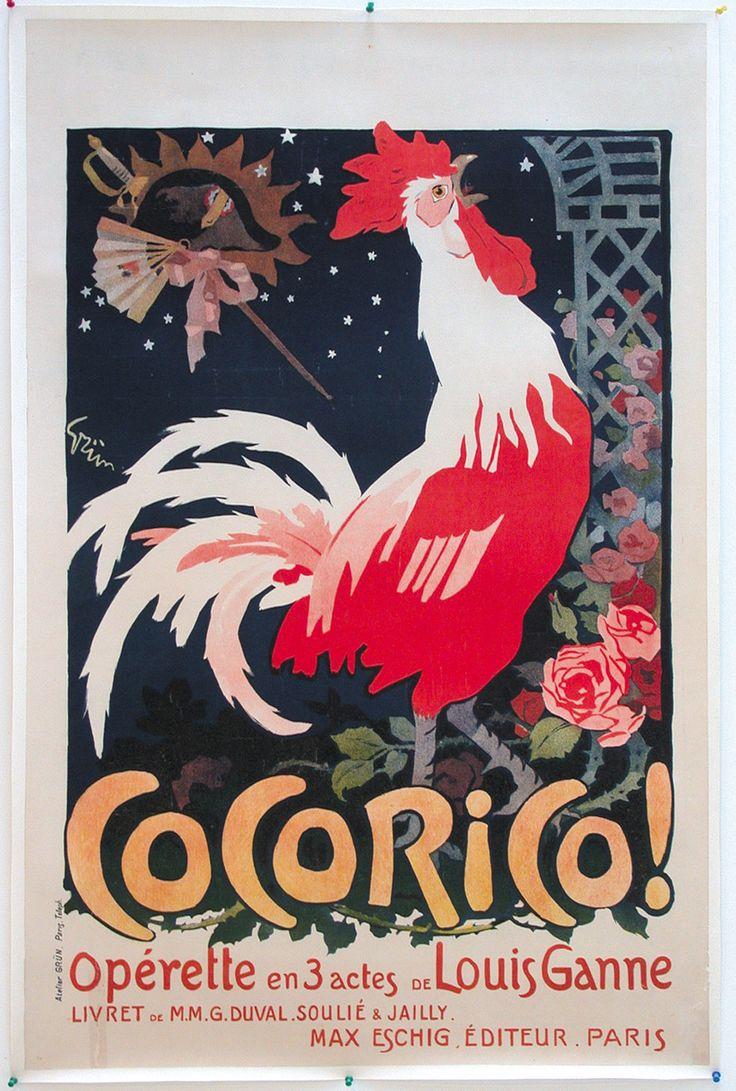 Cocorico J A GRÜN Opérette EN 3 Actes | eBay
