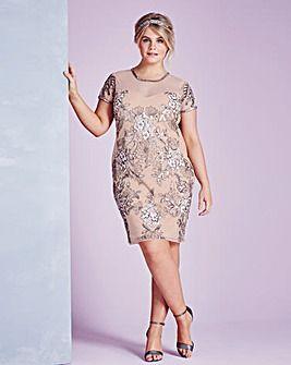Embellished Mini Dress