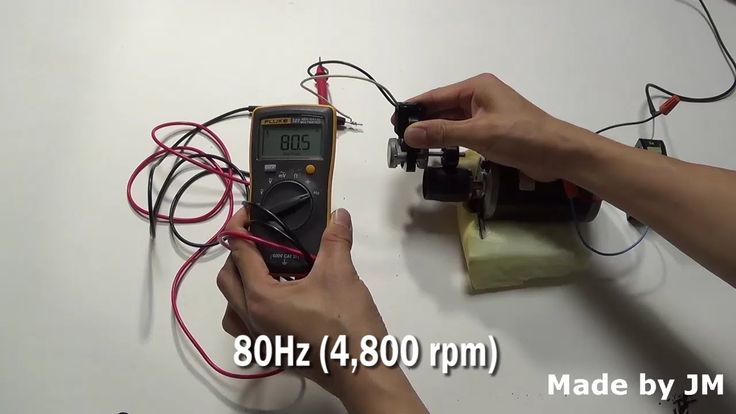 Shaded Pole Motor Generator for Bicycle