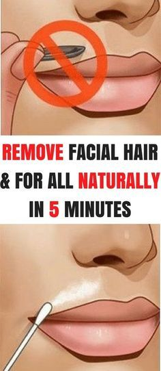Remove Facial Hair Once and For All With This Natural Remedy