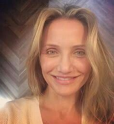 Cameron diaz no makeup still gorgeous