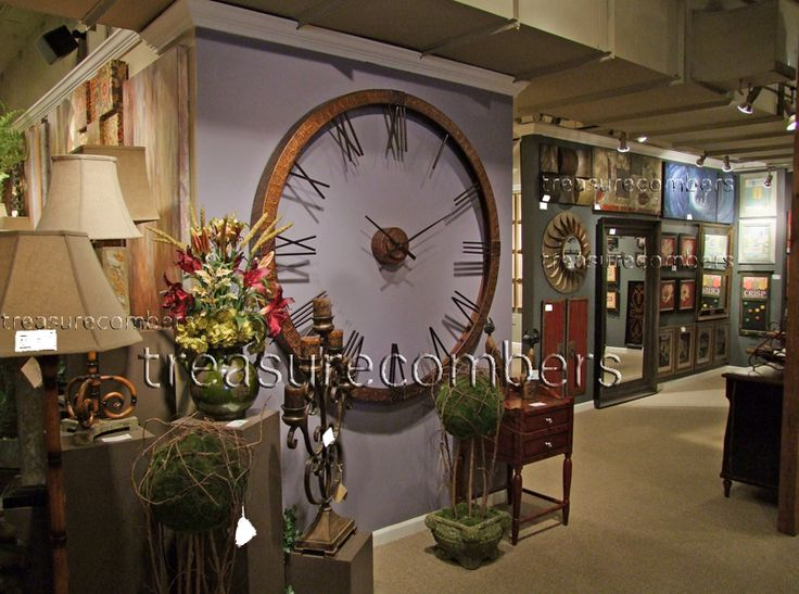 Old World Tuscan Decor Catalog | XL 5 Foot Hammered Copper Wall Clock Oversized French Tuscan Old World