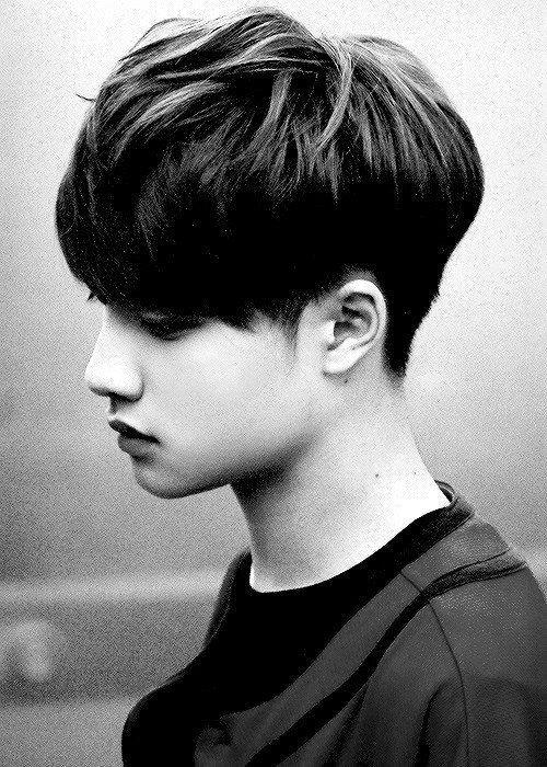 gaya rambut pendek pria korea