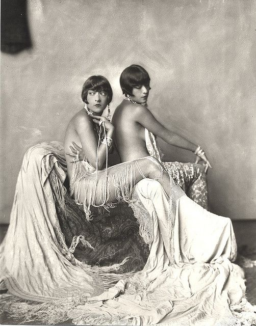 Dolly Sisters in Allison Marchant / carbonated 's flickr
