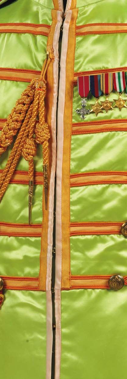 Uniforms (detail) - from the booklet for Sgt. Pepper's Lonely Hearts Club Band: Deluxe Edition