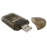 eForCity SDHC / SD / MMC Memory Card Reader to USB 2.0 Adapter, Smoke (Personal Computers)By eForCity