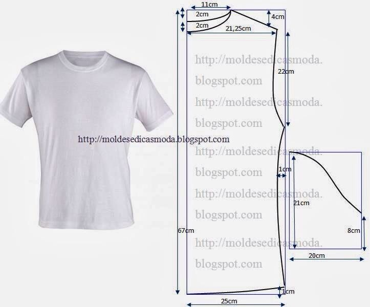 playera hombre | moldes ropa | Pinterest | Sewing, Sewing patterns y ...