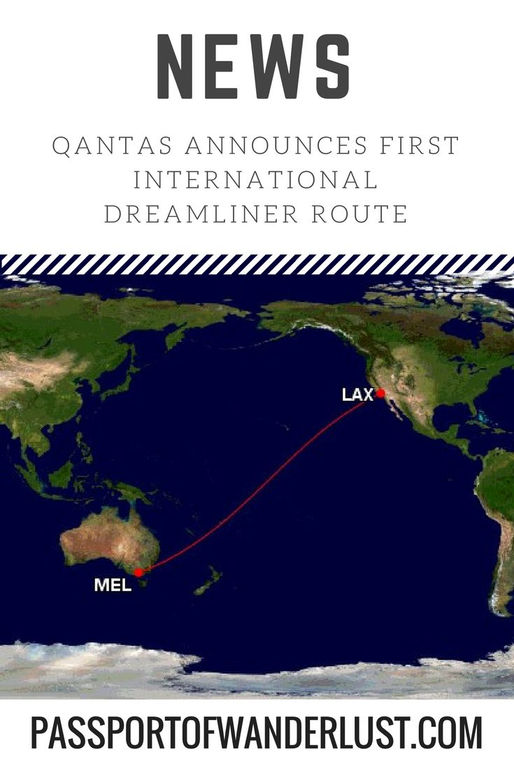 Qantas announces Melbourne to Los Angeles as first international dreamliner route - Passport of Wanderlust http://passportofwanderlust.com/qantas-announces-melbourne-los-angeles-first-international-dreamliner-route/