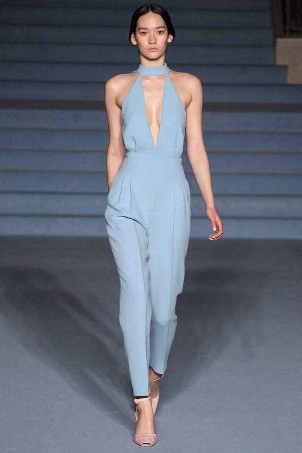Emilia Wickstead powder blue jumpsuit perfection.