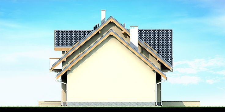 Projekat. Kuća KARMELITA MODERN CE (DOM PC1-43)