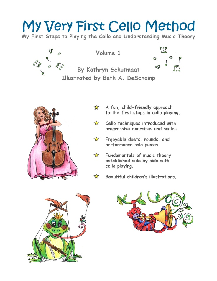 'My Very First Cello Method' is a comprehensive method for