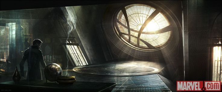 Our First Look at Doctor Strange's Swanky Magical Abode, the Sanctum Sanctorum