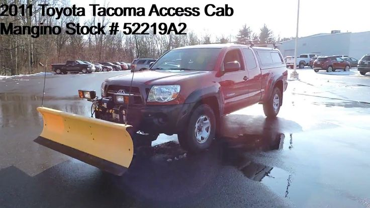 2011 Toyota Access Cab Mangino Stock 52219A2 in
