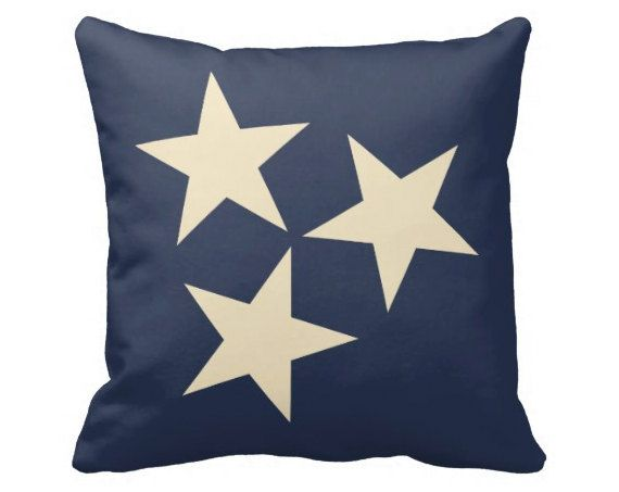 CUSTOM Tennessee Stars Pillows 20x20 Double by laurenmaryHOME