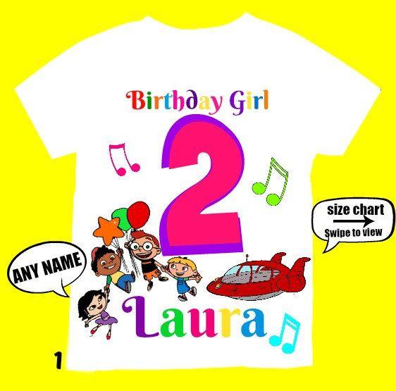 Little Einsteins  Birthday Girl Shirt by FantasyKidsParty on Etsy