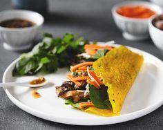 Crispy Vietnamese Crepes (Bahn Xeo)