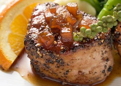 Savory Orange-Braised Pork Tenderloins-Not only are these tenderloins a time-saving supper, they're also an excellent source of selenium, an essential mineral that helps fight off colds and flu.