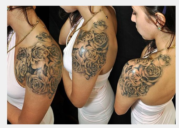 12 best chest shoulder arm tattoos for images