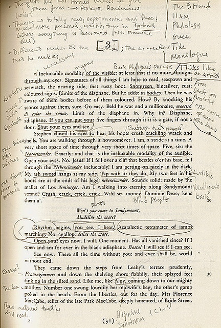 Ulysses, by James Joyce---1% talent; 99% hard work