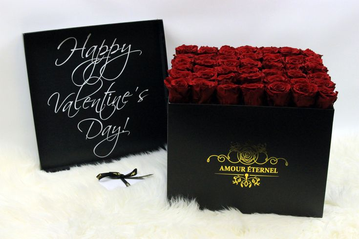 Beautiful Boxed Roses for Valentines Day🌹💕