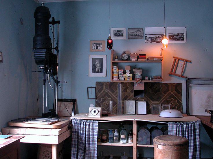 Mörkrummet / pimiö / the darkroom #EKTAMuseumcenter