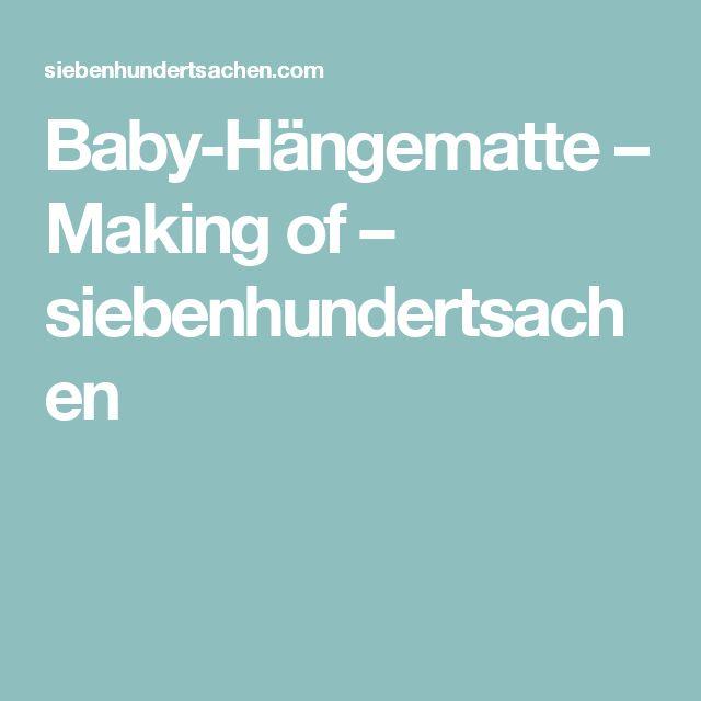 Více než 25 nejlepších nápadů na téma Baby hängematte jen na - designer hangematte holzgestell